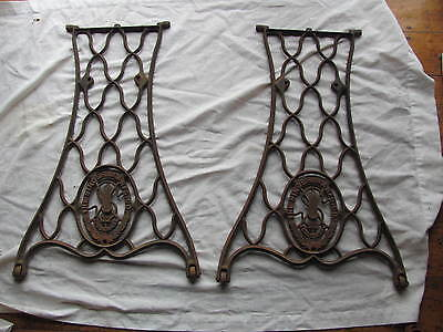 1887 Singer Treadle Sewing Machine Base Stand Legs