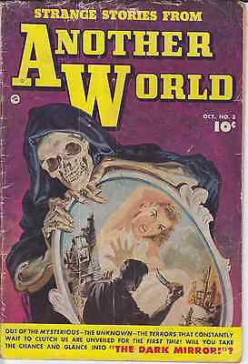 USA Fawcett 1952 Pre-Code Horror Comic STRANGE STORIES FROM ANOTHER WORLD 3