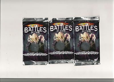 Dr Who Cards - Battles In Time - Ultimate Monster Booster Pack Brand New Sealed