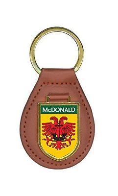 McDonald Family Crest 4 Coat of Arms Key Chains