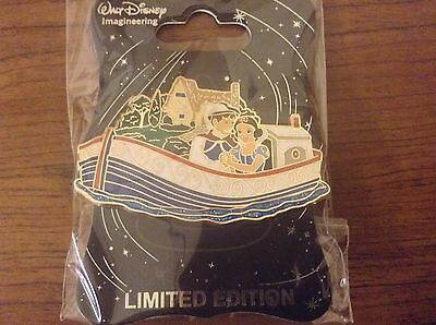 Disney Wdi Storybookland Canal Boats Snow White And Prince Charming Pin Le 300
