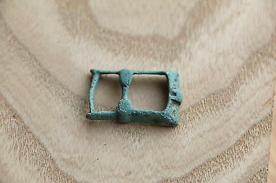 Kievan Rus Viking Bronze Buckle, Strap End, Part of Belt 9-10 AD