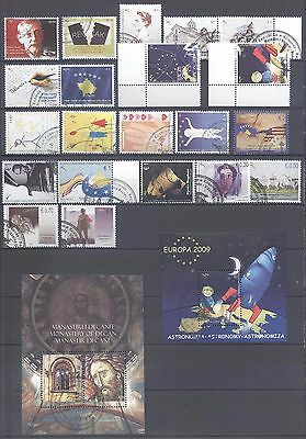 Kosovo 2009 Year Set Complete Cancelled All Very Fine