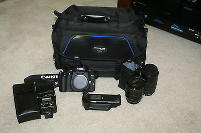 Canon ELAN 7NE and Lens lot