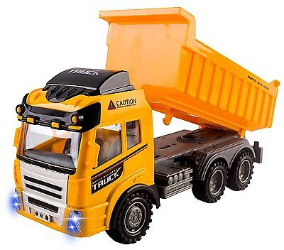 RC Dump Truck Toy Construction Truck Remote Control Truck 4CH Full Function RC