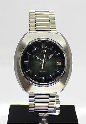 Rado Kapell Men's Steel Automatic Date Green Dial Watch on Bracelet