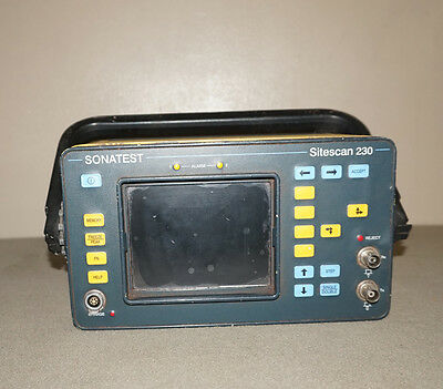 SONATEST SITESCAN 230 NDT Inspection Ultrasonic Flaw Detector Thickness Meter