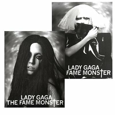 Lady Gaga - The Fame Monster Tour Lenticular Dual Image Poster - New