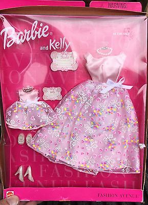 Barbie Fashion Avenue Barbie And Kelly AT THE BALL 1999 Mattel