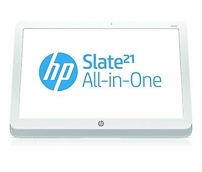 HP E2P18AA Slate 21-S100 All in One Desktop PC, Android 4.2, 1 GB di DDR3, 8 GB
