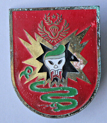 Vintage Macv-Sog Beercan Painted Vietnam Special Forces Di Insignia