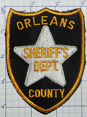Vermont, Orleans County Sheriff's Dept Vintage Patch