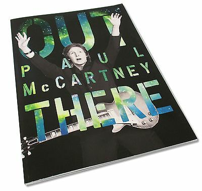 Paul Mccartney Out There 2013 Tour Book Program W/ 3D Glasses New Official Solo