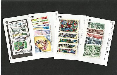 H46) Hungary, Russia, Romania Mint And Used Stock On 102 Cards
