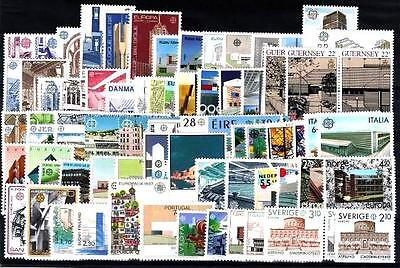 Cept Europa 1987 ** annata completa MNH beautiful and complete collection