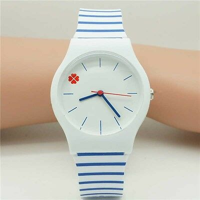High Quality Silicone Women Boy Girls Kids Watch Cartoon Quartz Wristwatch u71