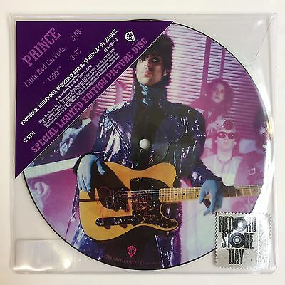 """Prince - Little Red Corvette- 7"""" Picture Disc (Record Store Day 2017) (Sealed)"""