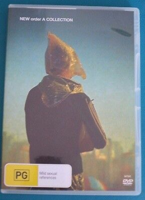 New Order A Collection Dvd Regions 2 3 4 5 (Australian)
