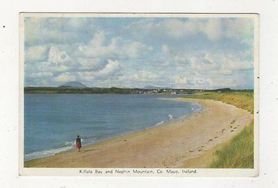 Killala Bay & Nephin Mountain Mayo Ireland 1976 Postcard 988a