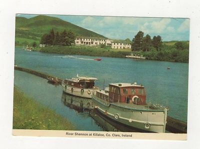 River Shannon At Killaloe Clare Ireland 1983 Postcard 986a