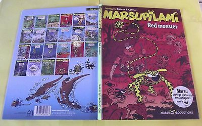 MARSUPILAMI N°21, RED MONSTER de 2008
