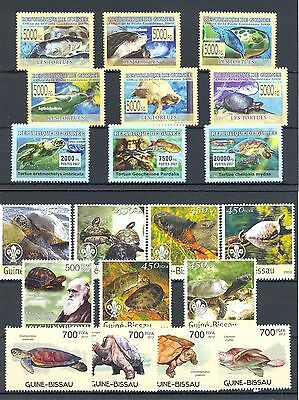 French Colony Guinee- Bissau 20 St.. **  Mnh  Vf Turtle  Tortue Tortoise  @165