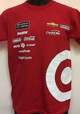 Kyle Larson Uniform Red T- Shirt Adult XL Target Racing  # 42 Free Ship
