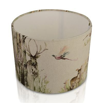 New VOYAGE Maison Enchanted Forest Deer/Stag Lampshade, Table Lamp,Pendant Shade