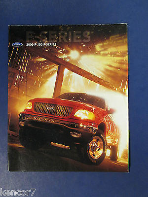 2000 Ford F-150 F-Series Trucks Sales Brochure C7076