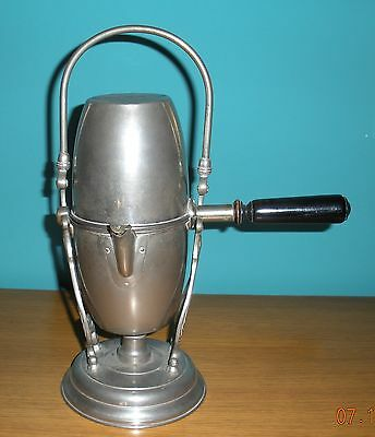 Antique Caffettiera a remboursement Caldaia Postdam Uovo Russo old coffee maker