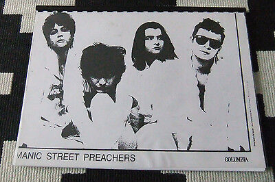 Manic Street Preachers RARE 1992 Tour Itinerary Richey Edwards 30+ pages