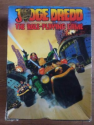 Judge Dredd  Games Workshop - The Role-Playing Game - Figures unused *READ*