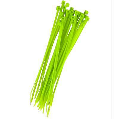 """Cable Ties 6"""" 25/Pkg Green 032076924737"""