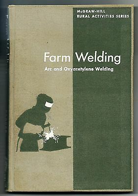 Farm Welding Arc and Oxyacetylene Welding-Marvin Parker-Hard Cover- VG