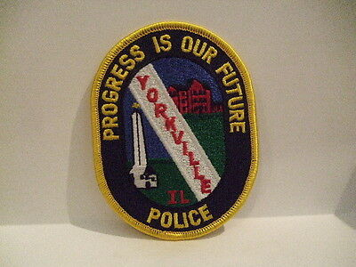 police patch   YORKVILLE POLICE  ILLINOIS