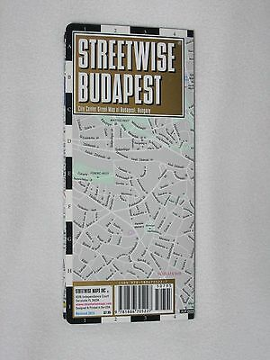Streetwise Budapest Hungary Map Laminated City Center Street 2015