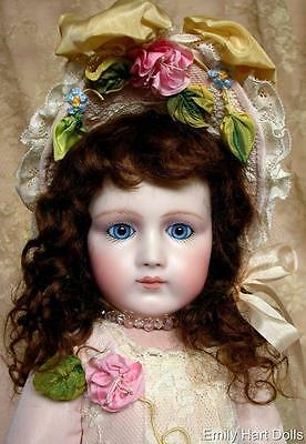 "Portrait Jumeau ""Stobe"" porcelain doll HEAD ONLY"