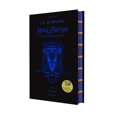 Harry Potter and the Philosopher's Stone (Ravenclaw Edition) - sent worldwide