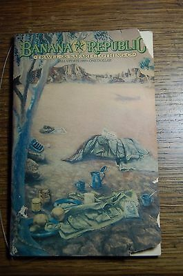 Banana Republic Catalog Fall Update 1985 Travel & Safari Clothing Co.