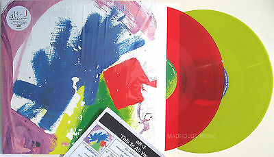ALT-J LP x 2 This Is All Yours COLOURED Vinyl + PROMO Info Sheet + Inners SEALED