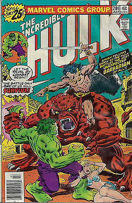 INCREDIBLE HULK #201  Jul 1976
