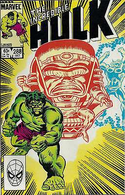 INCREDIBLE HULK #288  Oct 1983