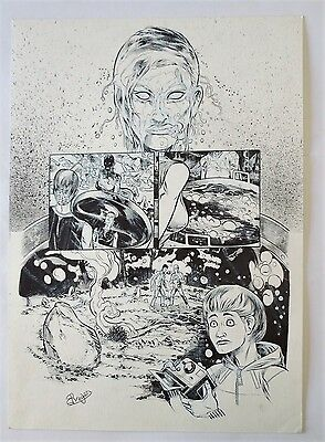 Original Art Page Amigo Comic The Westwood Witches By Roger Bonet Las Brujas