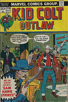 KID COLT OUTLAW #174  Sep 1973