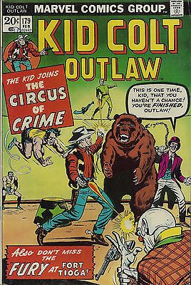 KID COLT OUTLAW #179  Feb 1974