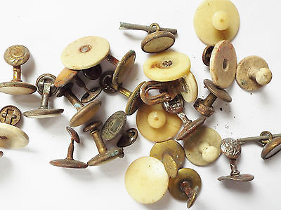 Job Lot of Vintage Collar Studs Various Design / Styles