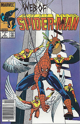 WEB OF SPIDER-MAN #2  May 85