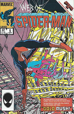 WEB OF SPIDER-MAN #6  Sep 85