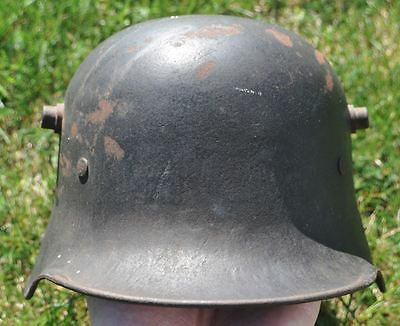 WWI Germany German Original M16 Helmet Good Strong Condition Band Inside
