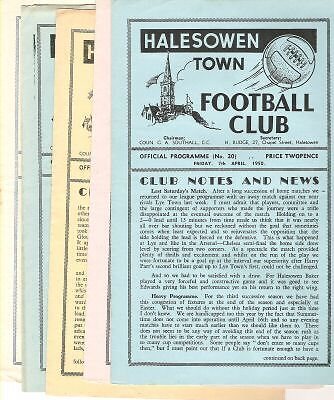 HALESOWEN TOWN reserves v Lye Town Res 1948/9
